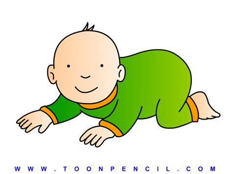 how to a to crawl how to draw baby crawl for