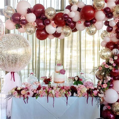 Balloon and flower decor for party decoration   Party