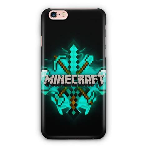 Minecraft Iphone 6 6s minecraft tools cover iphone 6 6s 3d