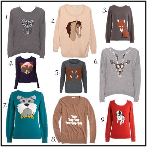Aniimal Sweater fashion friday graphic sweaters an animal attraction is it really much to ask