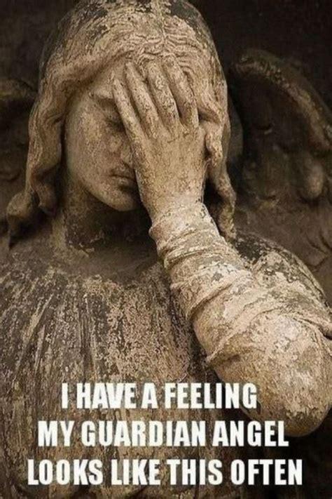 Angel Meme - my guardian angel