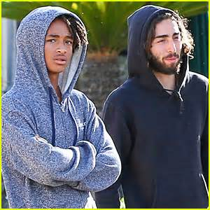 when jaden and willow smith moises and mateo arias came mateo arias takes a shirtless bike ride with a full beard