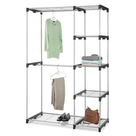 shop whitmor 68 in h x 45 38 in w x 19 5 in d 5 tier steel