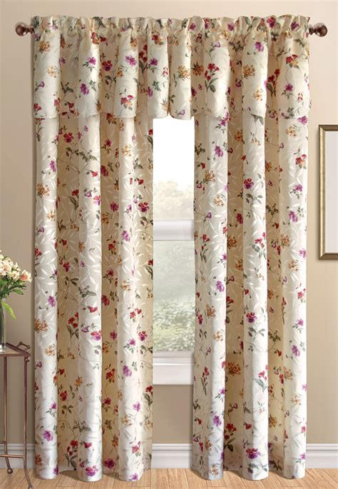 floral draperies whitfield floral curtains lorraine home fashions view