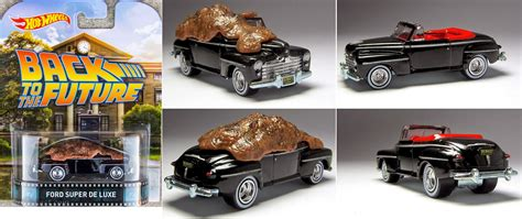 Ford De Luxe Back To The Future Hotwheels Real Riders retro entertainment 2014 wheels