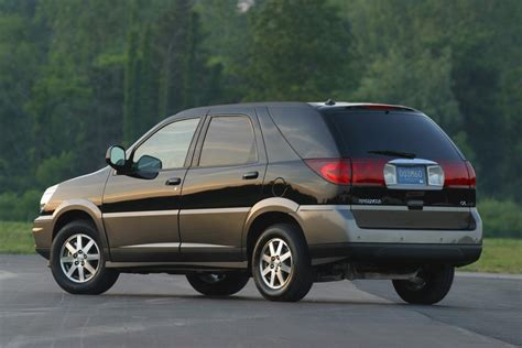 buick rendezvous 2004 2004 buick rendezvous pictures history value research
