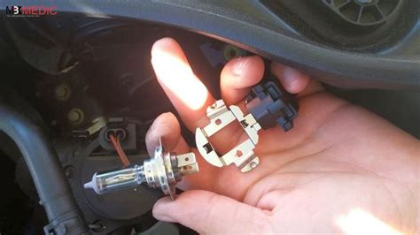 smart car headlight bulb replacement how to replace low beam headlight bulb on mercedes