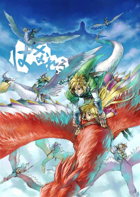 no densetsu skyward sword mobile wallpaper 1451148 zerochan anime image board