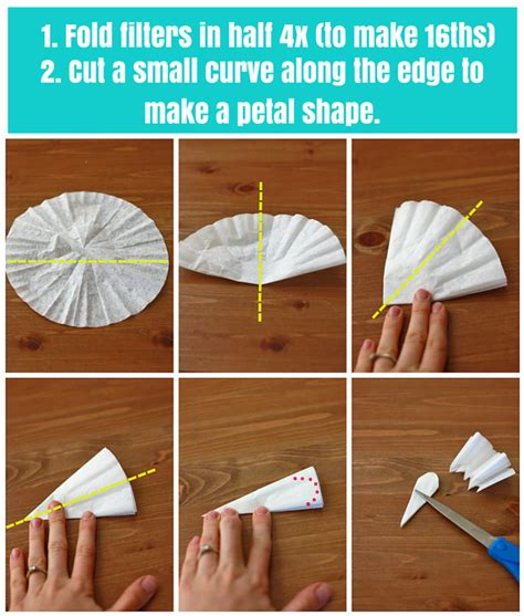How Do I Make Paper Flowers - how to make paper flowers one lovely