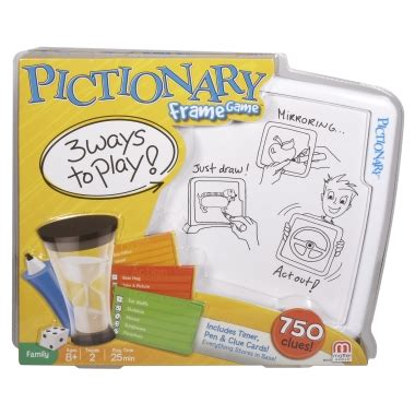 Pictionary Frame By Mattel pictionary frame puts a new spin on a classic the insider