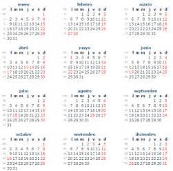 Paraguay Calendrier 2018 Almanaque Con Feriados 2017 En Uruguay Calendario Con