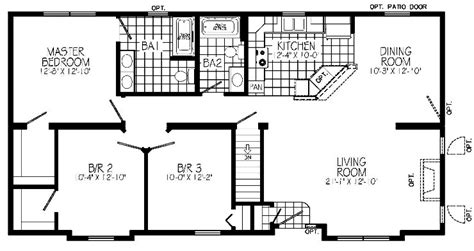 greystone modular home floor plan