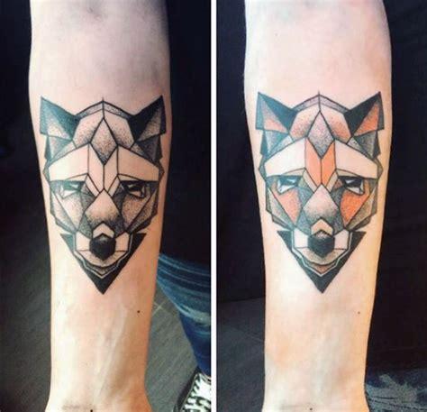 tattoo geometric fox fox tattoo designs for men sly ink inspiration