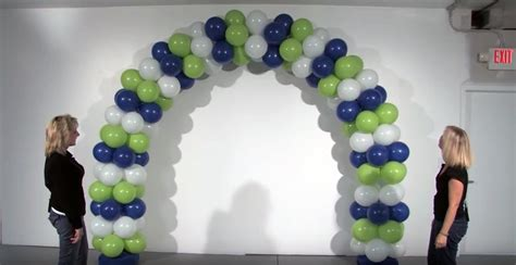 How to make a balloon arch in 7 steps inflate amp create