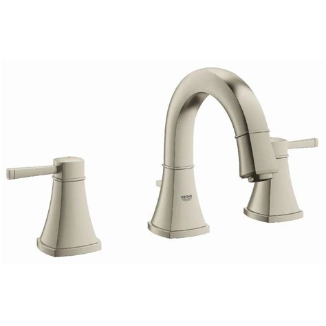 Shop Grohe Grandera Brushed Nickel Infinity 2 Handle Grohe Bathroom Faucets Brushed Nickel