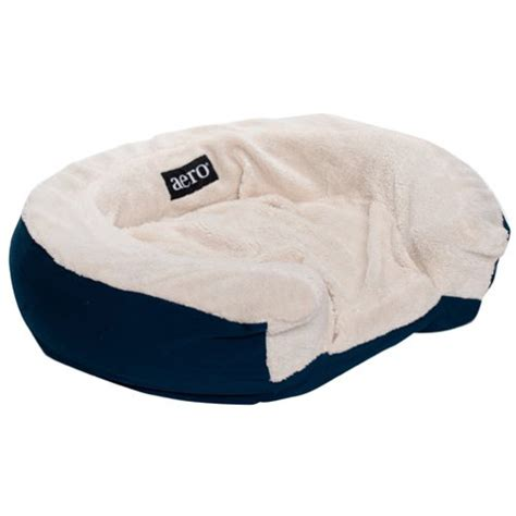 aero air bed aero paws small inflatable soft fleece washable adjustable dog air bed ebay