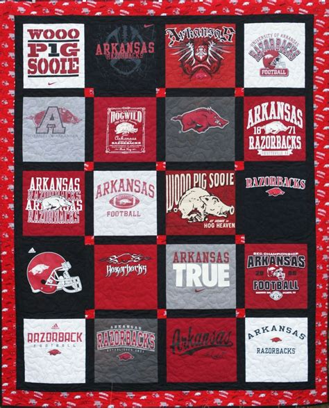 Handmade T Shirt Quilts - custom made t shirt quilt 20 shirts deposit only
