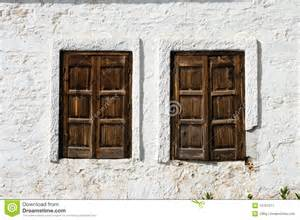 Old Barn Windows Tow Rustic Windows Wooden Closed Stock Image Image 10787071