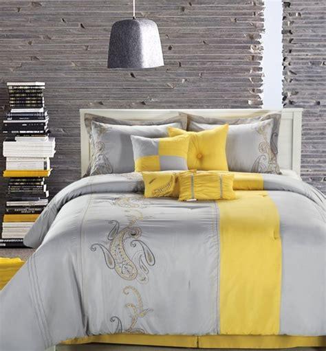 chambre jaune et gris la chambre grise 40 id 233 es pour la d 233 co