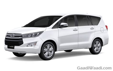 toyota innova price in india top model 2016 toyota innova crysta petrol and diesel specs