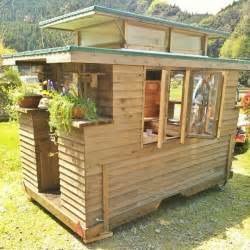 Small Home Builders In Ta In Japan Builds Micro Diy Tiny House On Wheels