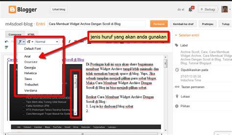 Cara Membuat Video Dan Tulisan | cara membuat post dan fungsi tool di blog m4sdoel blog