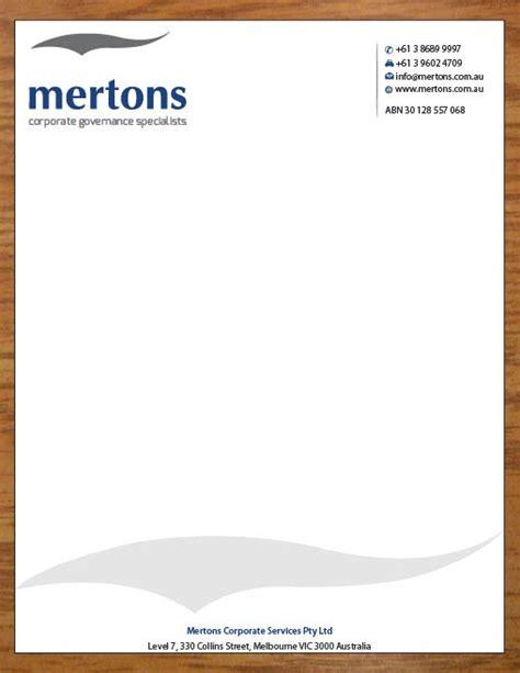 australian business letterhead template letterhead design by joy16589 design 3629694