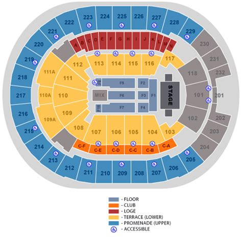 amway center seating chart american idols live july 24 tickets orlando amway center
