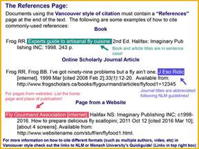 in text citation exles for websites