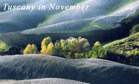 tuscany  november