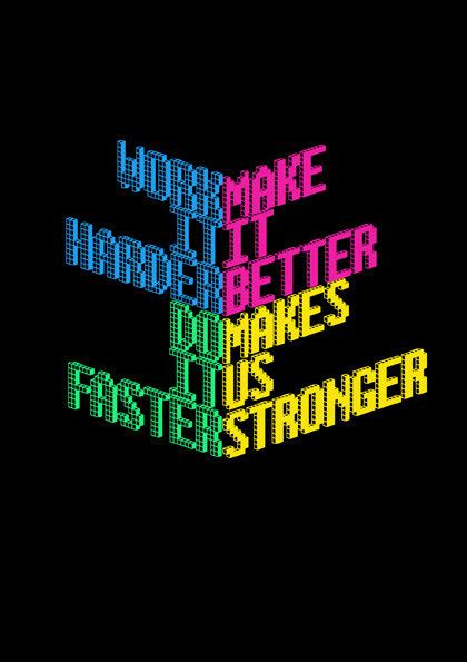 harder better faster stronger kanye west daft harder better faster stronger by
