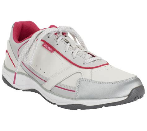 orthaheel sneakers vionic w orthaheel s lace up sneakers zen qvc