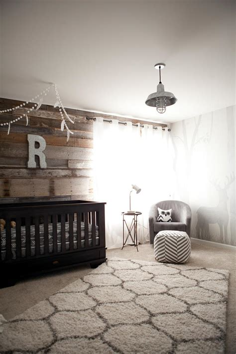 rustic baby room s modern rustic outdoor inspired nursery project nursery