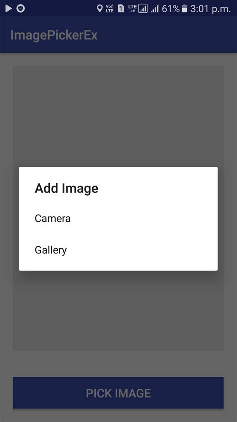 android tutorial image gallery android development tutorials pick image from gallery or