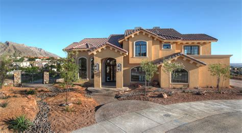 el paso houses custom home builders el paso tx custom plan park hills