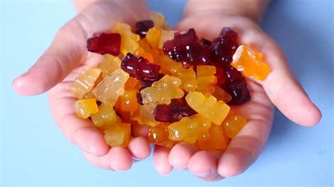 healthy gummy bear recipe using fruit honey mama natural