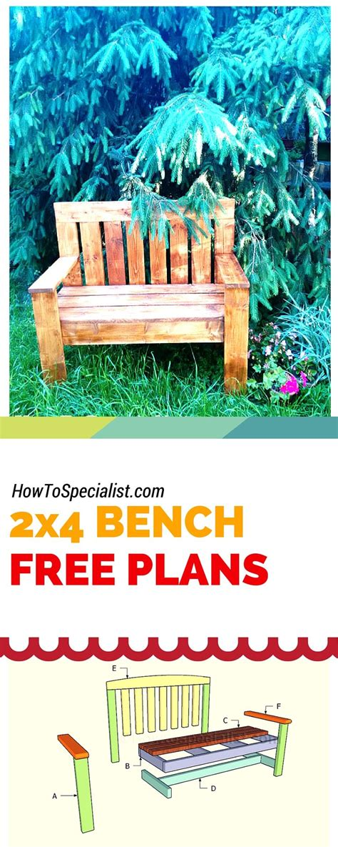 how to make a garden bench from a pallet how to build a 2x4 garden bench easy to follow free plans ideas and instructions