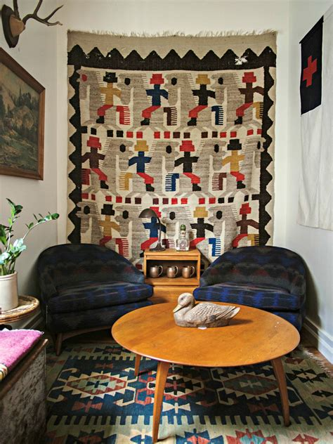rugs to hang on walls how to hang vintage textiles on the wall