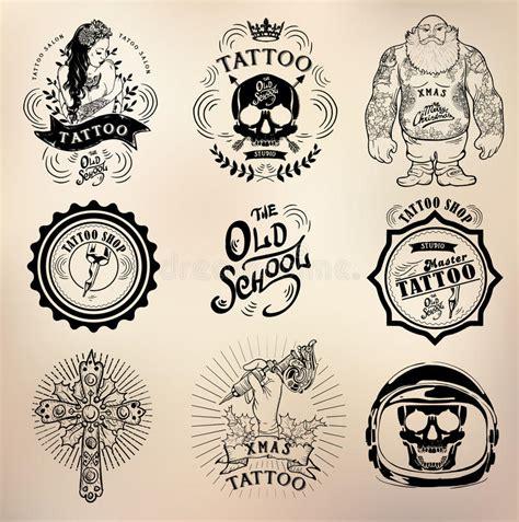 tattoo old school catalogo tattoo old school studio skull stock vector image 62493913
