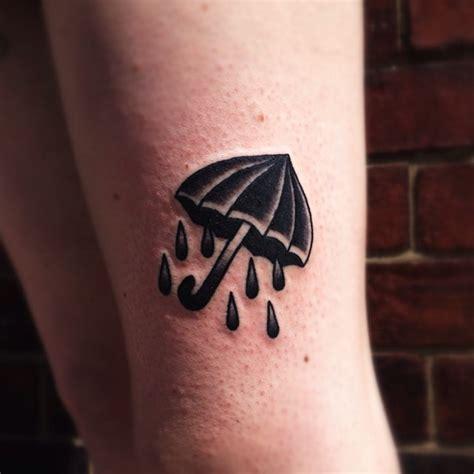mini umbrella tattoo