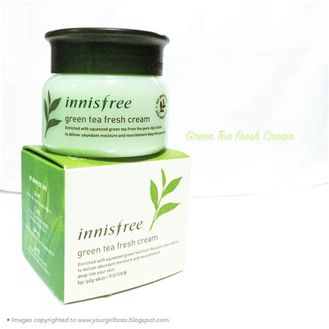 Innisfree Green Tea Fresh Skin innisfree green tea fresh review jean kuah s