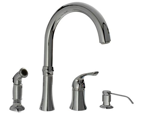 Mr Faucet Plumbing by 710 C Chrome Four Kitchen Faucet