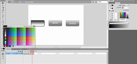 how to create a navigation rollover button in dreamweaver how to create a nav bar with rollover buttons in flash cs4