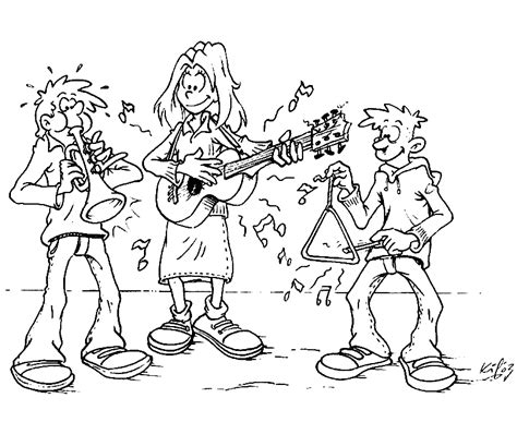 free coloring pages of music music coloring pages