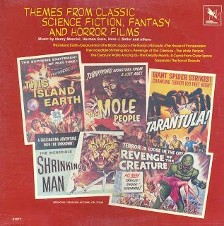 themes in science fiction films in flight soundtracks themes from classic science fiction