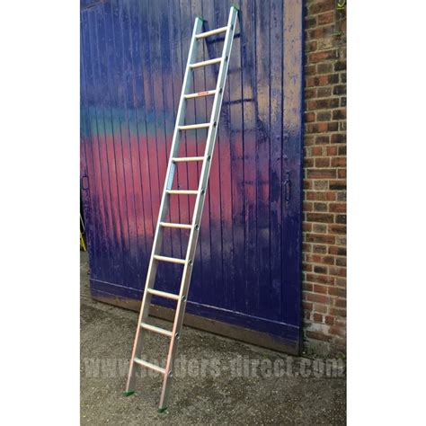 single section ladder clow aluminium ladder single section to en131