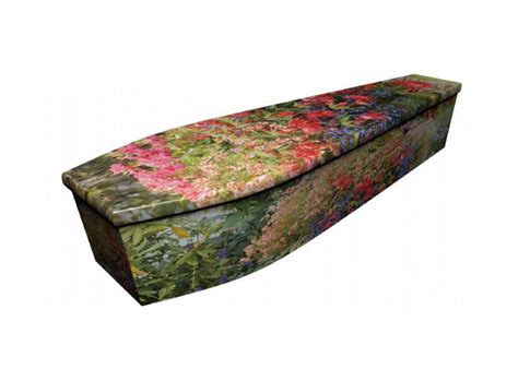 Wooden Coffin wooden coffin garden 4086 greenfield coffins