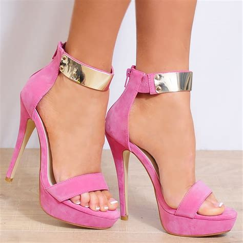 pink high heels shoes pink high heels for my birthday