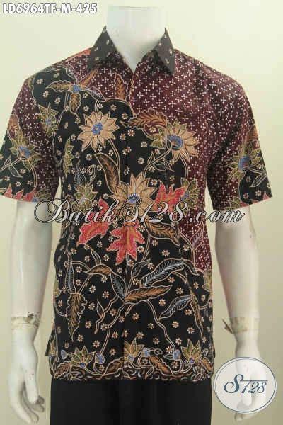 Dress Cocok Buat Ke Kantor hem batik mewah lengan pendek baju batik elegan