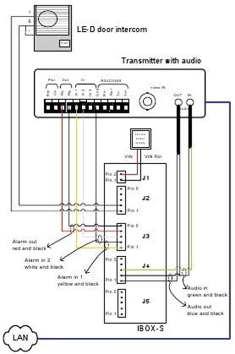 aiphone intercom wiring diagram and installation guide